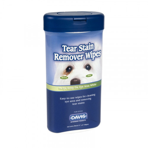 TEAR STAIN REMOVER WIPES
